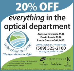 Walla Walla Eye Center coupon